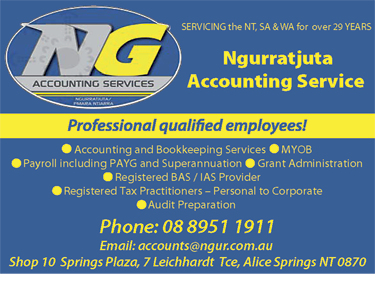 Ngurratjuta Accounting Service