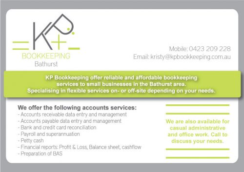 KP Bookkeeping - Sunshine Coast Accountants