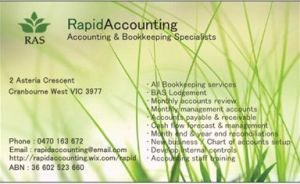 Rapid Accounting Solutions - Sunshine Coast Accountants