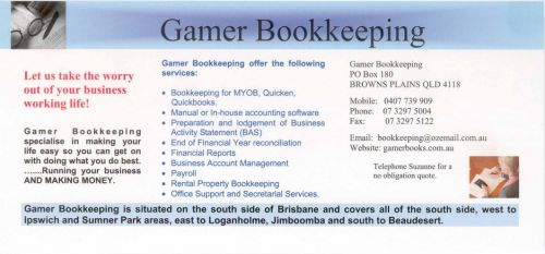Gamer Bookkeeping